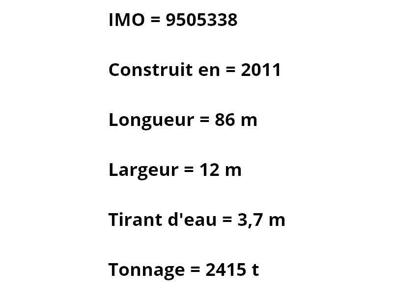 CONSTANCE , arrivant a Toulon / Brégaillon le 16 février 2017