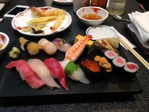 Ne sont-ils pas beaux nos sushis ^_^