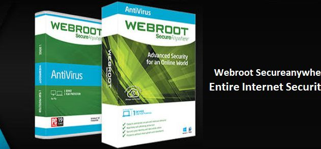 Webroot Secureanywhere Antivirus The Entire Internet Security Configuration