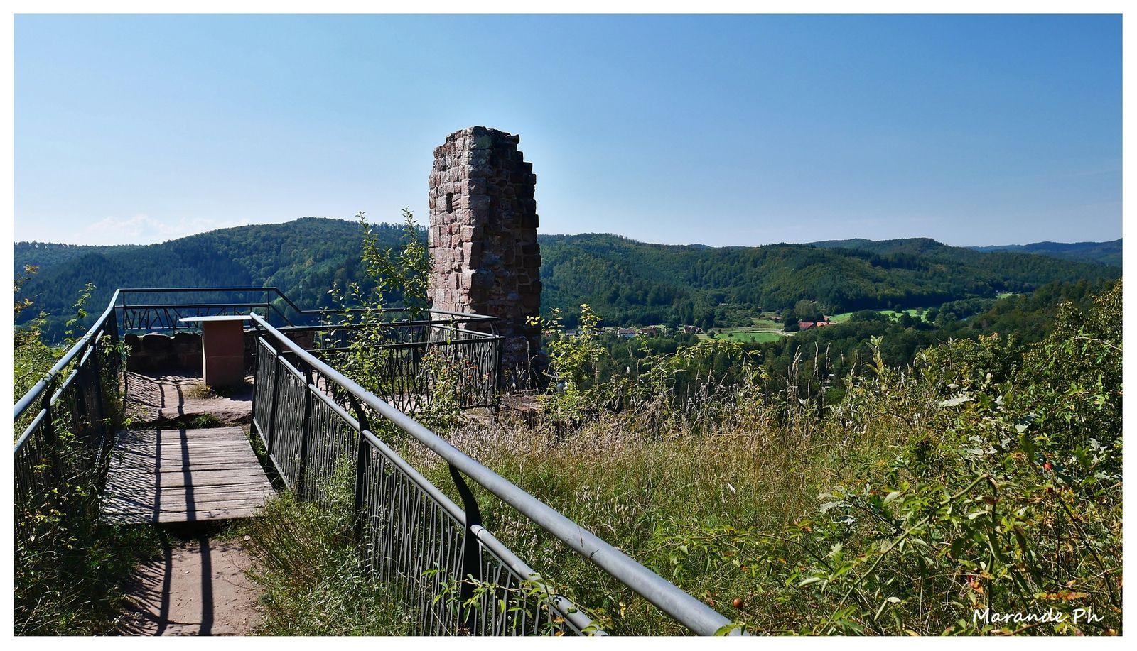 Le château du Ramstein (57) !
