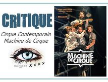 👁️ Critique Cirque - Machine de Cirque