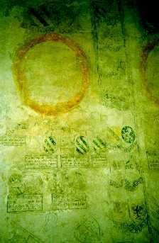 <strong>Les d&eacute;tails de la fresque de la salle des Chevaliers</strong>