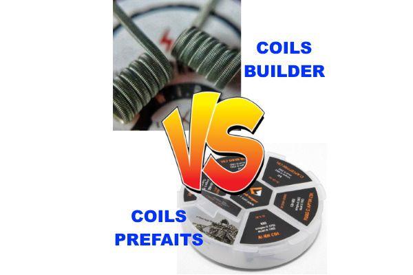 Différences entre les coils de builder et les coils préfaits