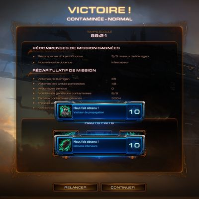 [Heart Of The Swarm - Campagne] Contaminée