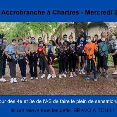 Sortie Accrobranche - Mercredi 2 Juin
