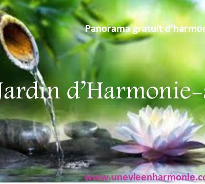 Panorama Jardin d'Harmonie-s