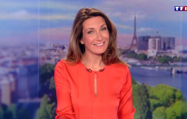 📸34 ANNE-CLAIRE COUDRAY @ACCoudray @TF1 @TF1LeJT pour LE 13H WEEK-END #vuesalatele