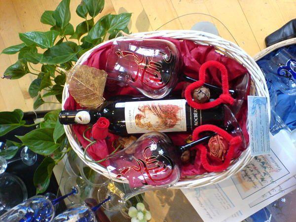 Pour un mariage, verres tulipes ou flûtes à champagne. Coffret de 6 verres avec une bouteilles, également coffret verres à vin avec décanteur.