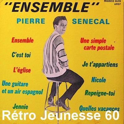 pierre sénécal, un chanteur québécois qui commence en 1957 à 14 ans, et à côté de la chanson il mène parallèlement une carrière radiophonique