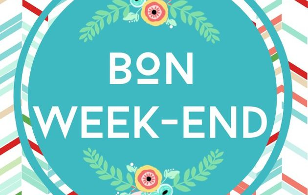 "Freebies : profils instagram et Facebook ""Bon Week-End"" printaniers"