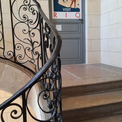 Le Grand Tour - Visite guidée - Escaliers - MONK