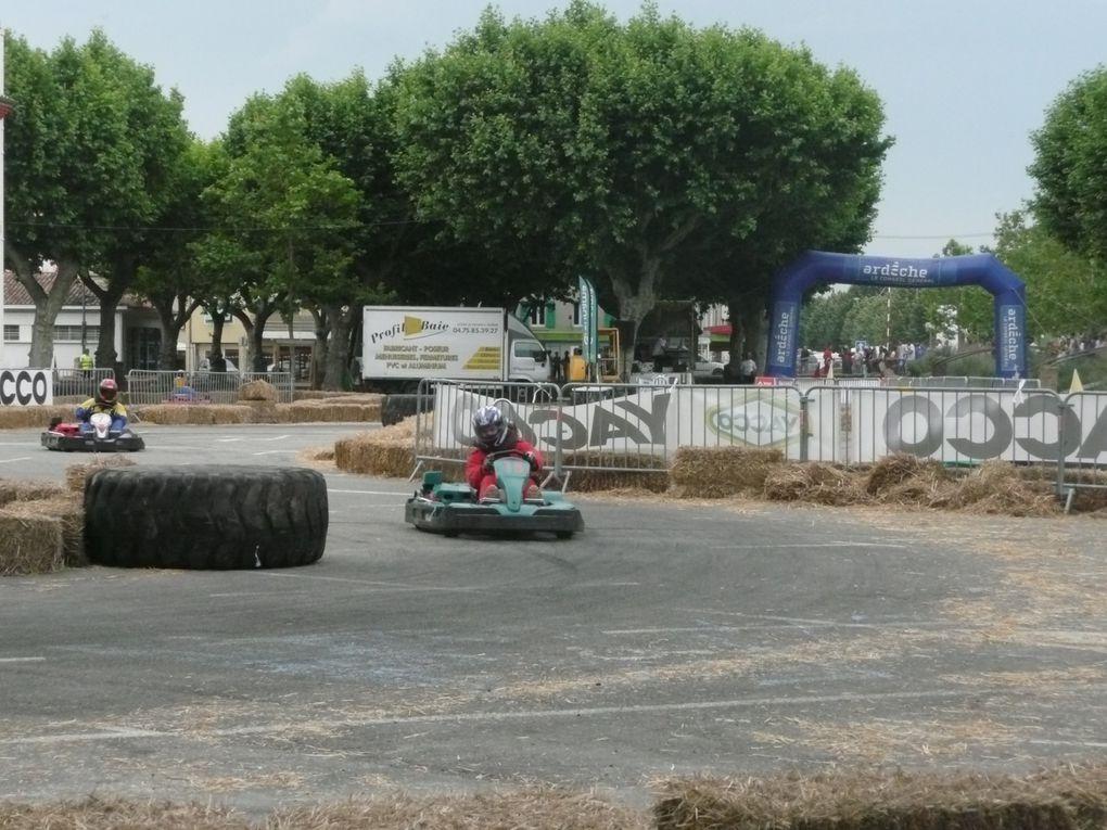 Participation de l'équipe TeamMANON au challenge des 24 h. de Karting de La Voulte le week end des 2 et 3 Juin 2012