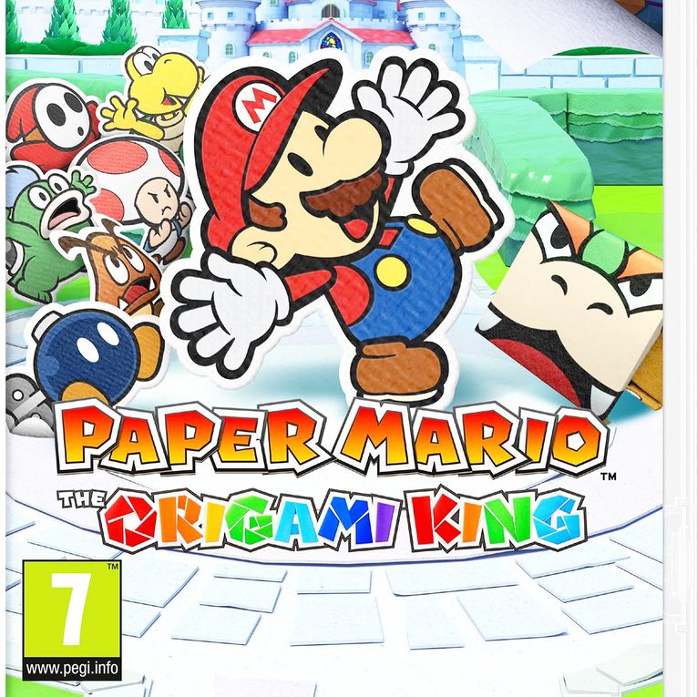 PAPER MARIO: THE ORIGAMI KING SUR NINTENDO SWITCH