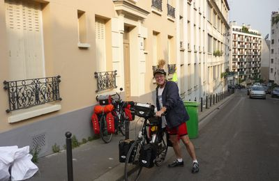 Via Carolina, a bicycle trip from Paris to Prague - Day 1