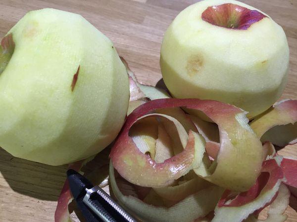 Panna cotta mascarpone, pommes & cannelle