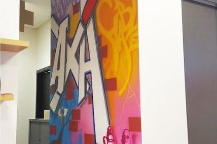 AXA Thionville, une entrée tout en couleur