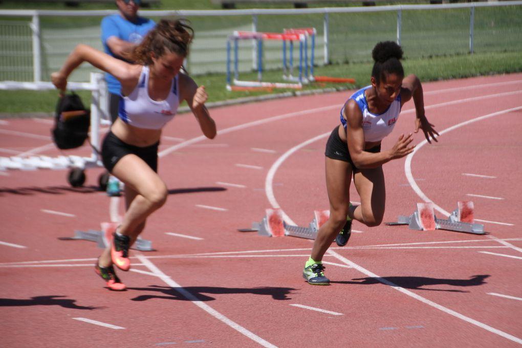 Camille Moulard et Marion Peju médaillées aux championnats du Rhône minimes