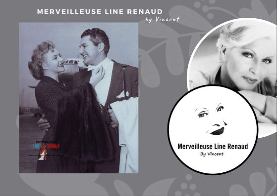 PHOTOS: Line Renaud et Liberace 1954