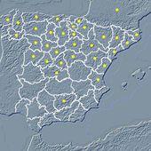 MAPA INTERACTIVO DEL ROMANICO ESPAÑOL - A. GARCÍA OMEDES