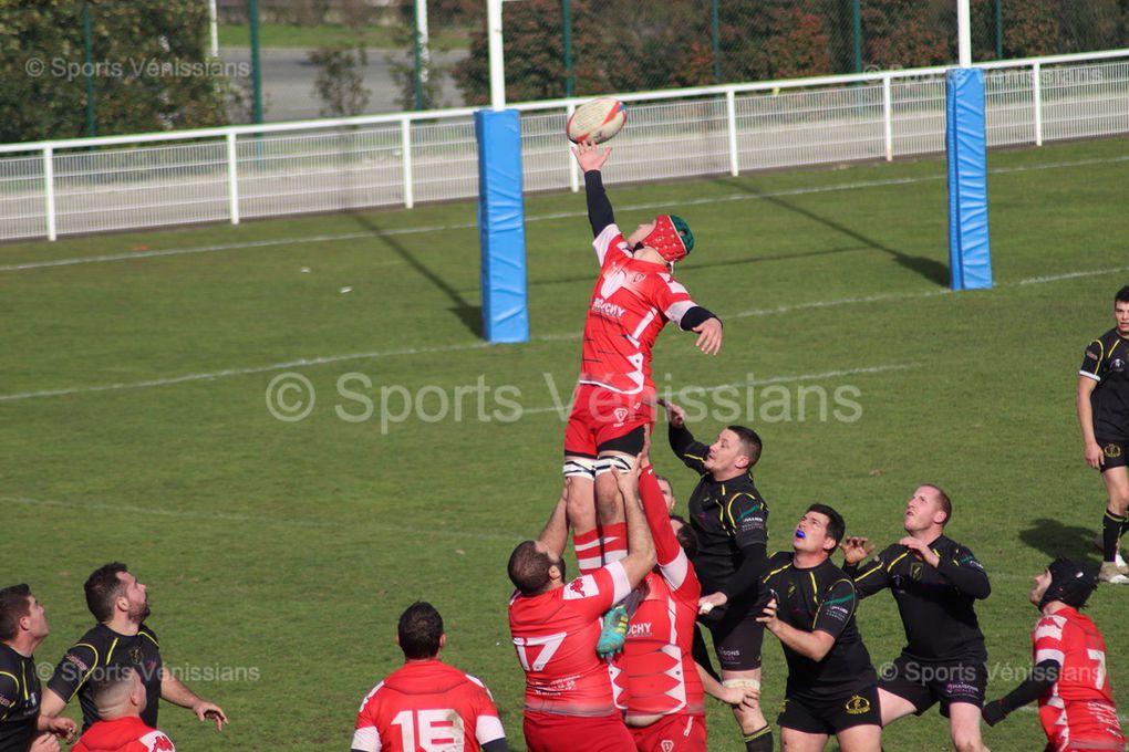 Ce dimanche après-midi l'US Vénissieux Rugbyà renversé les Côtes d'Arey dans les dernières secondes du match