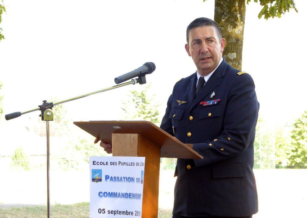 Passation de Commandemement à l'EPA de Montbonnot St Martin