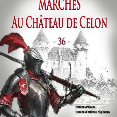 Marchés au Château de Celon