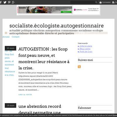 socialiste.écologiste.autogestionnaire