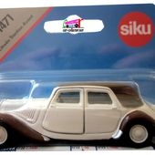 CITROEN TRACTION AVANT SIKU 1/55 - car-collector.net
