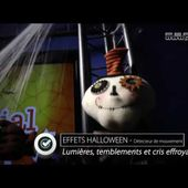 """[DECORATION HALLOWEEN] FANTOME """"MEPHISTO"""" MOBILE + effets sonores et lumineux [PEARLTV.FR]"""