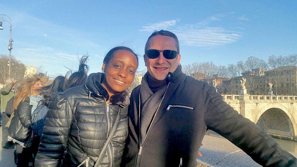 2018 Mars / Passage de Charles et Judith à ROME
