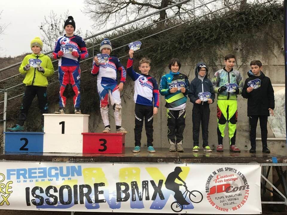Résultats de la 1ière manche de la Coupe d'Auvergne, les petits cournonnais en forme