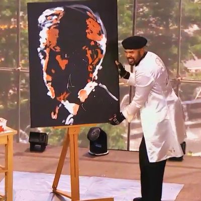 Entertain your Guests with a Wonderful Live Speed Painting Show
