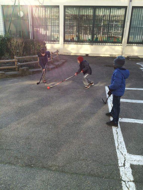 Hockey au CE1B