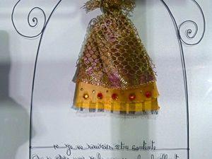 Peau d'Âne, collection de fêtes #3 et dernier workshop de l'année!