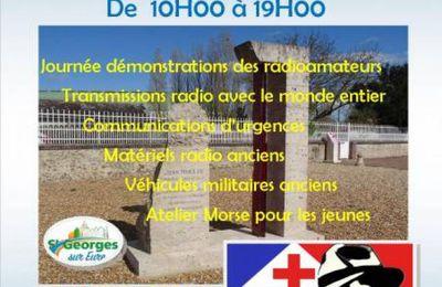 Jean Moulin : SAINT-GEORGES-SUR-EURE - Les radioamateurs en gare de la Taye samedi 19 juin