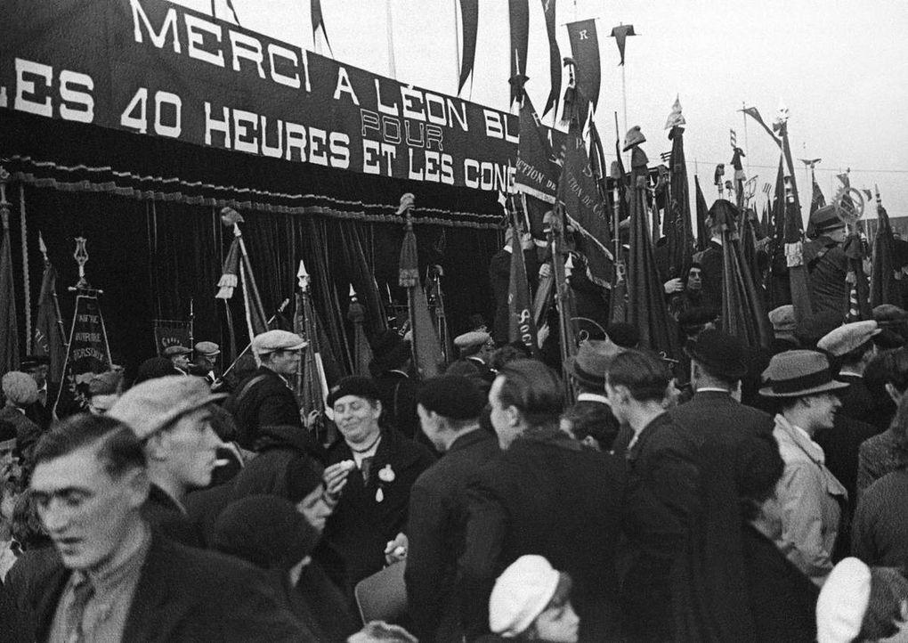 Front Populaire : grèves et gouvernement
