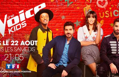 "La finale de ""The Voice Kids 2020"" diffusée le 10 octobre sur TF1"