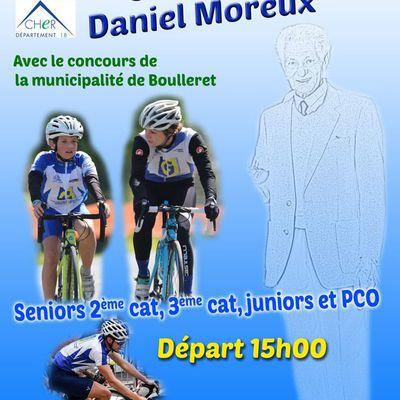 """LE SAMEDI 19 SEPTEMBRE 2020  -BOULERET (18) - """"Souvenir Daniel MOREUX"""" organisé par la 4 S Saint Satur avec le concours de la municipalité de Boulleret - 2, 3 Juniors Pass'Cyclisme Open - les engagés - Départ 15 heures - circuit 2.7 km + résultat 2019 - (Isabelle MOREUX - 4S - Saint Satur -  Nadine MARECHAL)"""