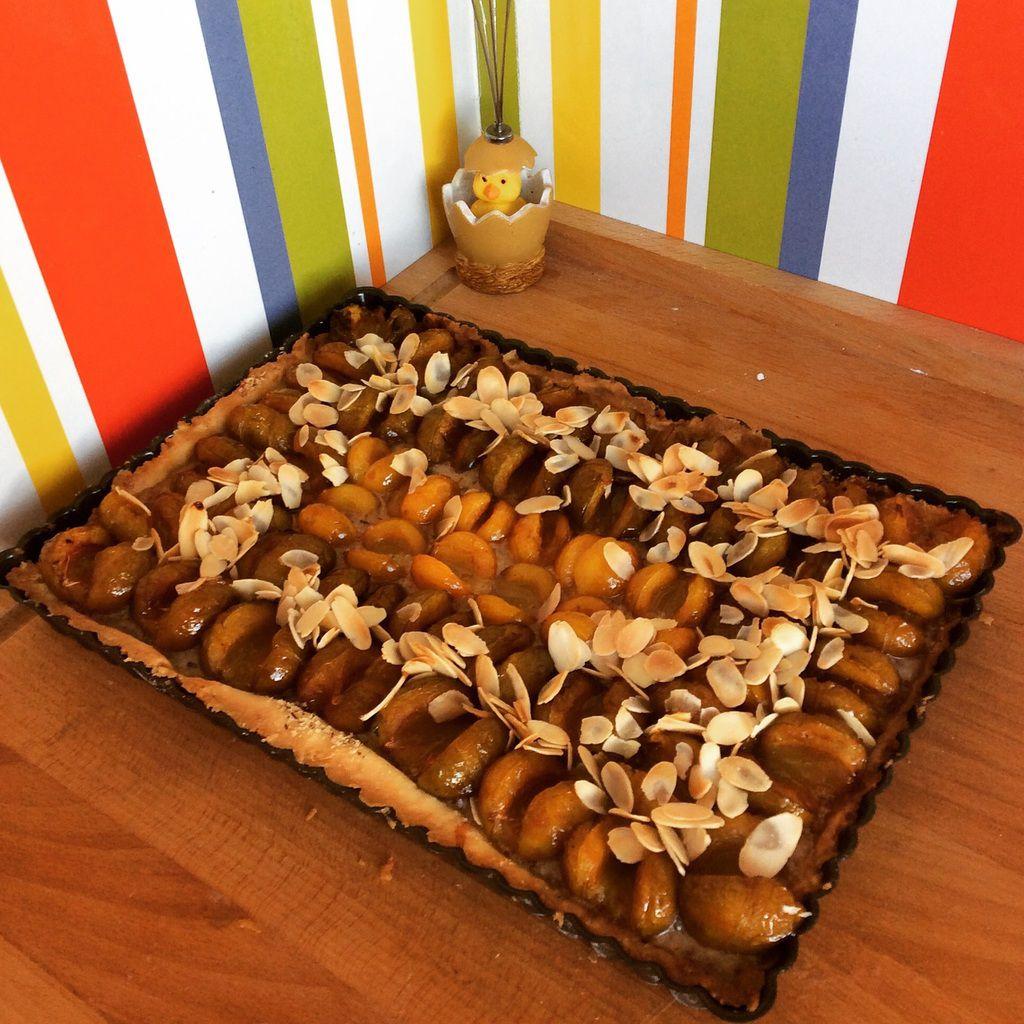 Ma tarte reines-claudes cœur de mirabelles
