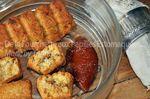 Petits cakes à l'écorce d'orange confite