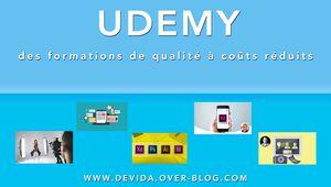 Udemy : des formations de qualité à coûts réduits