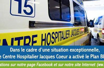 Covid 19 : l'hôpital de Bourges a déclenché son plan blanc