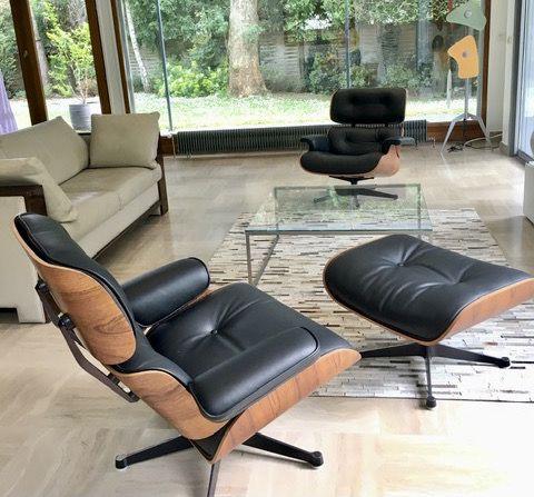 Réfection lounge Eames par Hafner