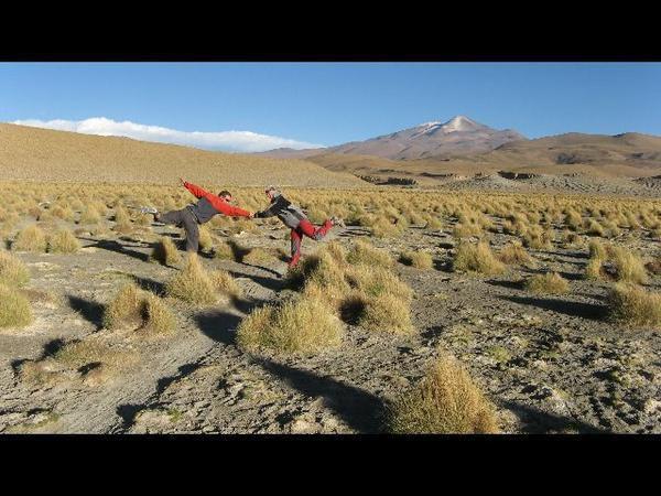 Sur la route en Bolivie...