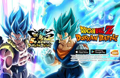 Dragon Ball Z Dokkan Battle fête son 5ème anniversaire !