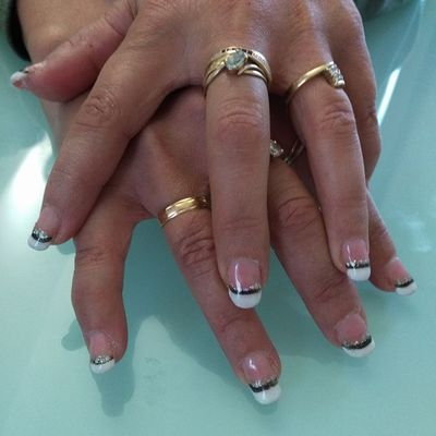Pose d'ongle en gel