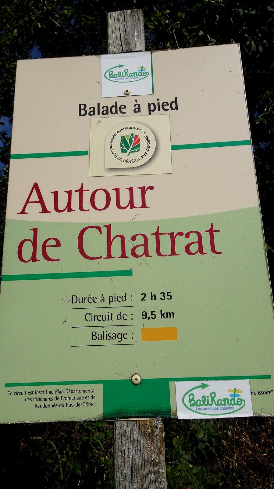 Rando'canard à Chatrat. (4).