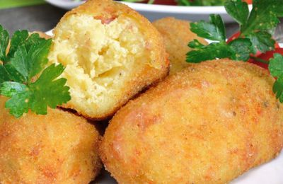 Croquette fromage recette mauricienne