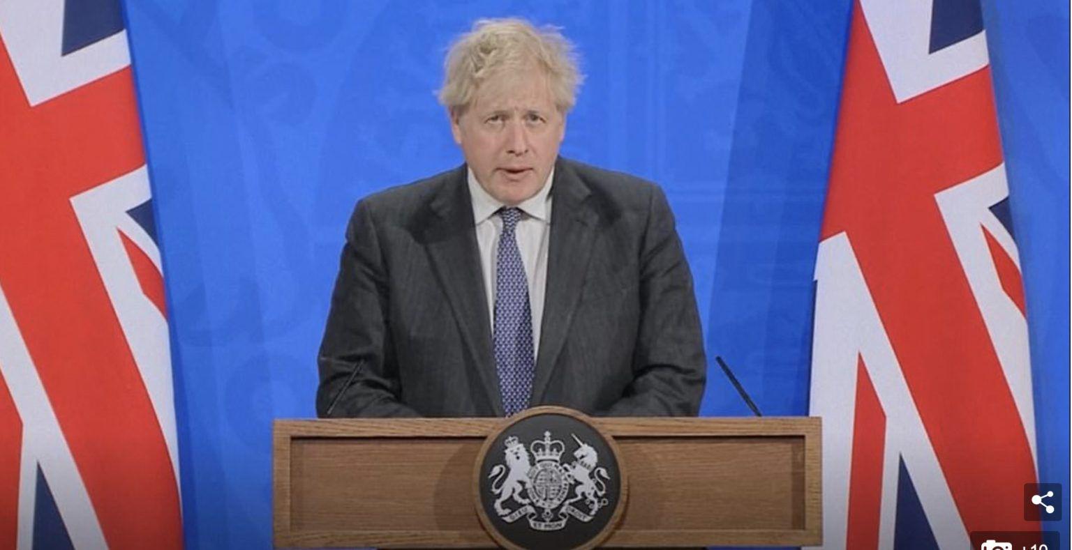 MAJ - #UK - Boris #Johnson : les Anglais seront dorénavant soignés avec des médocs… parce que les #vaccins ne protègent pas + Dr. Sherri #Tenpenny
