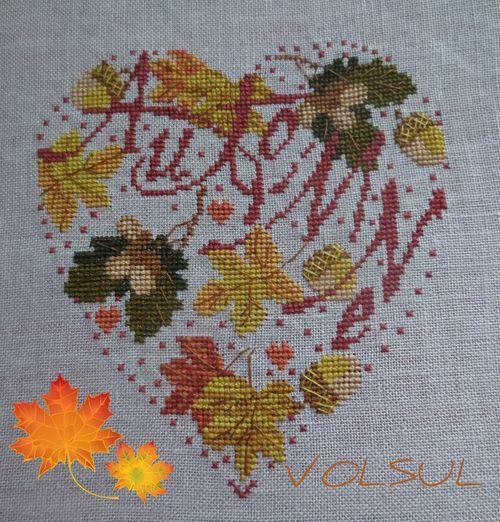 L'automne chez les BRICOTINES DU 32